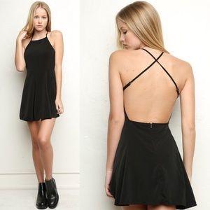 Brandy Melville Black Kirsten Dress